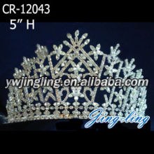 rhinestone accessory pageant crowns for sale-CR-12043