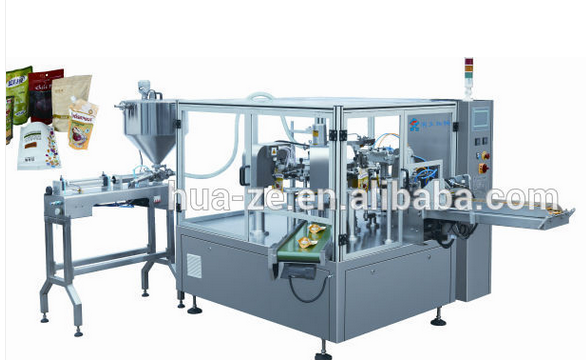Automatic vertical doypack packaging machine