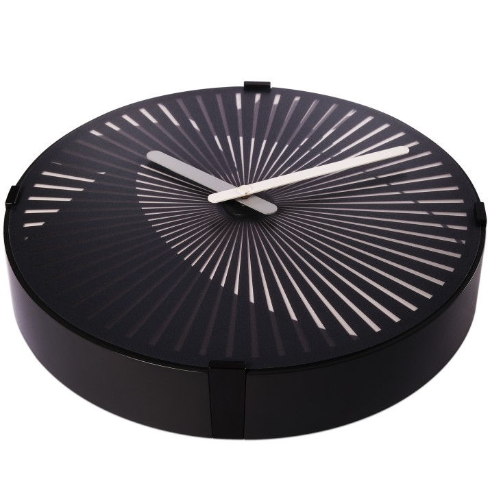 Motion Wall Clock Drum