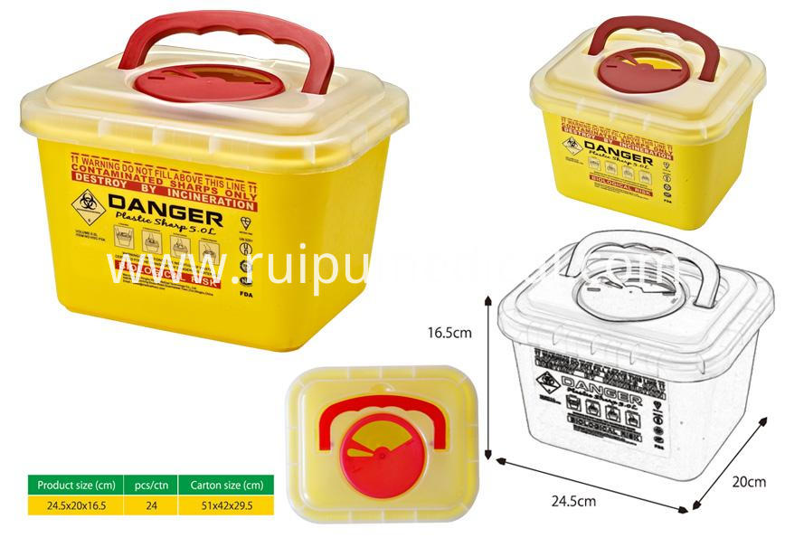 CL-SR0019 Sharp container 5.0L 4