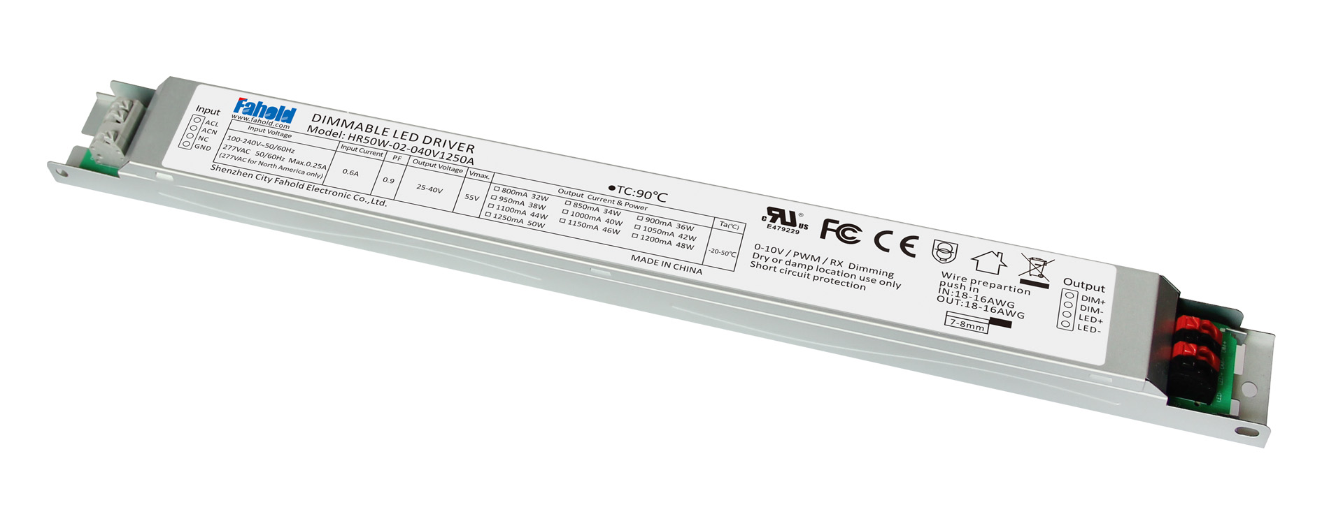 50W Linear Light Driver