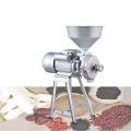 Peanut butter machine wet Refiner Commercial Grain beans grinder for tofu,Tahini, chili sauce,corn flour, etc. 220V 1.5kw