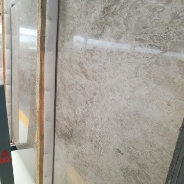Cloudy grey marble slabs