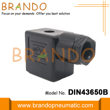 Solenoid Valve Coil Connector Plug With LED Diode
