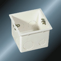 PVC Insulating Electrical Fittings Outlet Box
