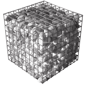 Coated Hexagonal Wire Mesh Gabion Basket