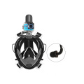 No build-up of CO2 Full Face Diving Mask