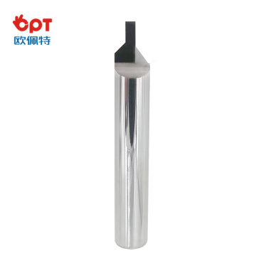 PCD engraving bit D6x90°x1.0mm for marble/granite