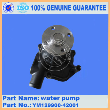 Komatsu spare parts PC50UU-2 water pump YM129900-42001 for Engine parts