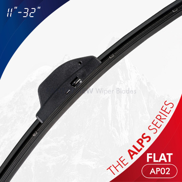The Alps Series Retro-Fit Flat Wiper Blades