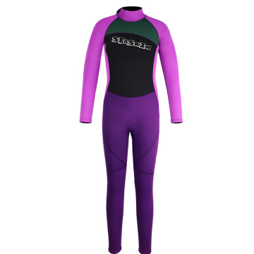 Seaskin Back Zip Childrens Long Wetsuit