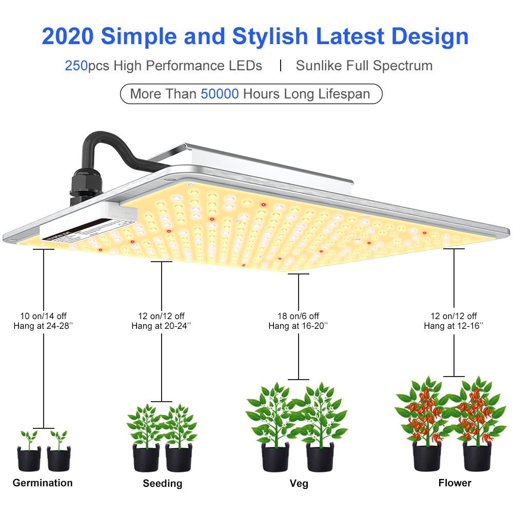 Full Spectrum 400W LED Grow Light for Greenhouse