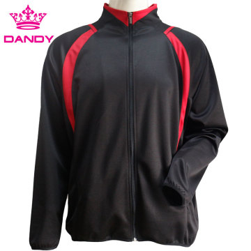 Cheap zip up black jacket