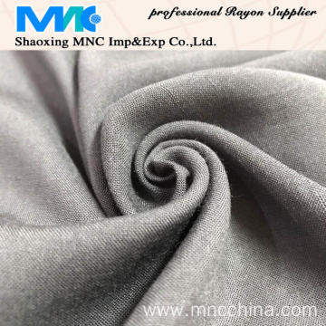 recycled rayon spun viscose solid fabric