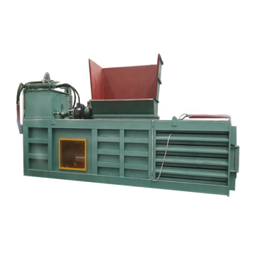 Hydraulic cloths iron cans aluminium scrap baler machine