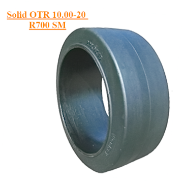 Off The Road Solid Tire 10.00-20 R700 Smooth