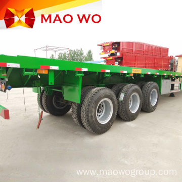 New Price 4 Axle 12m Flatbed Semi Trailer