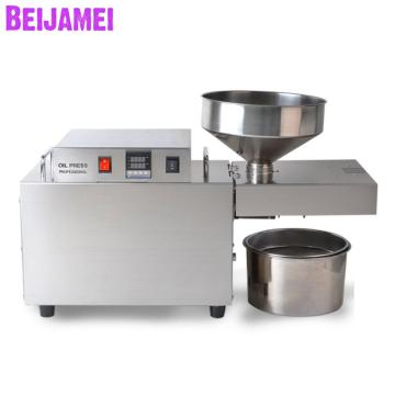 BEIJAMEI 2020 Electric Cold Press Soybean Peanut Oil Machine Commercial Industrial Sunflower Seeds Oil Presser making