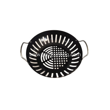 "Barbecue Grill Wok - 8"" - Non-stick"