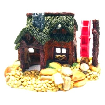 Aerated Water Mill Polyresin Aquarium Decoration