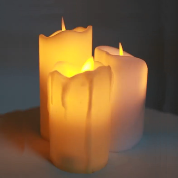 Flameless led candles battery operated religious candles