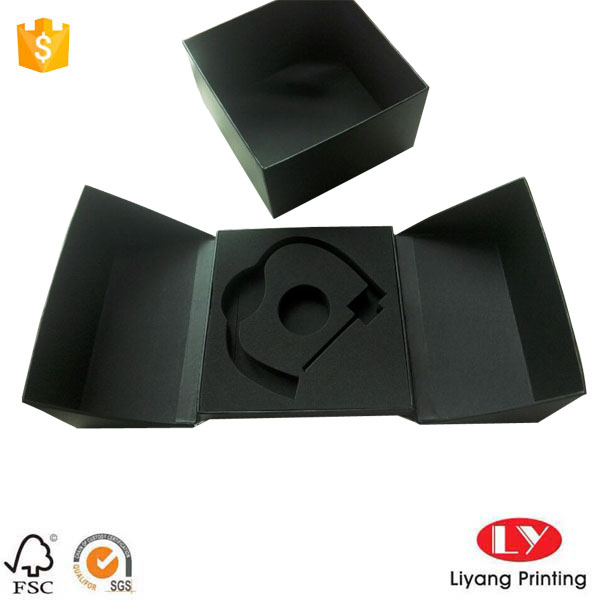 Unique gift box black