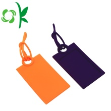 High-quality Plain Silicone Travel Luggage Tag for Bag