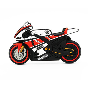 Customized PVC Motorcycle  USB Stick