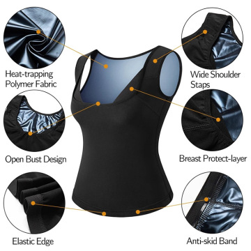 Wholesale Workout Sauna Sweat Vest for Women