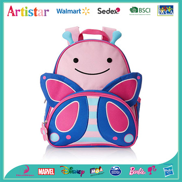Butterfly modelling school backpack