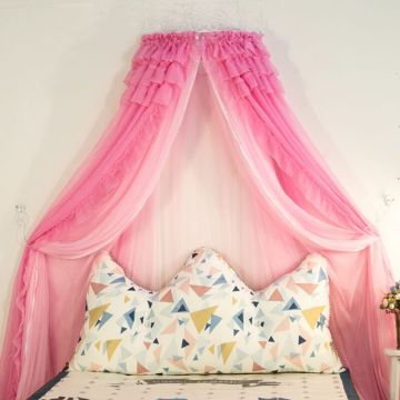 Luxurious Floor Bed Curtain Mosquito Net