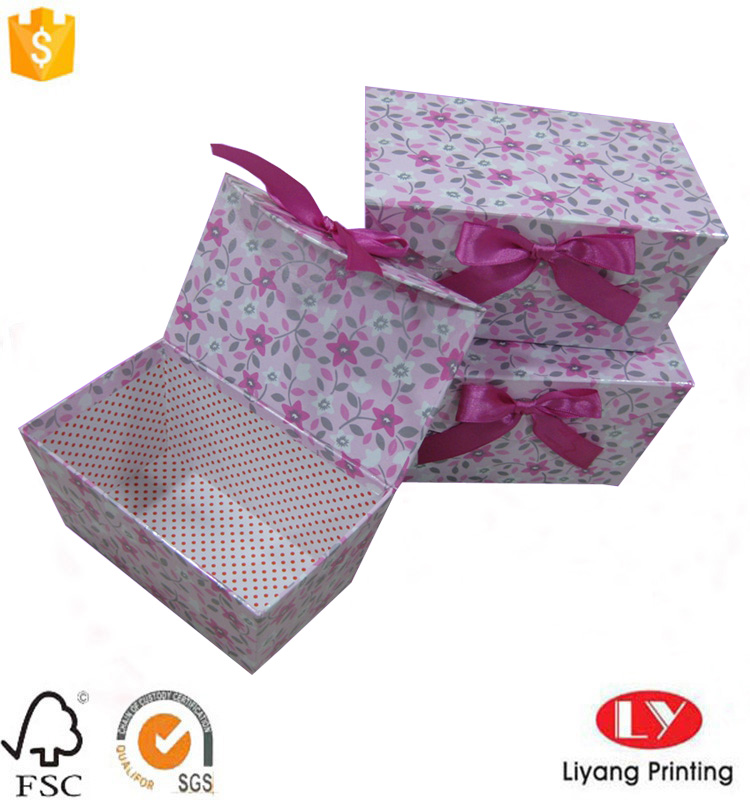 rigid gift box l