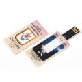 Memoria flash USB con mini carta di credito