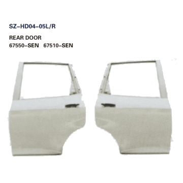 Steel Body Autoparts Honda 2003 FIT REAR DOOR