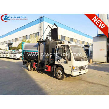 New arrival JAC 8cbm side loader garbage truck