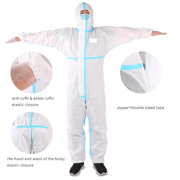 Antivirus Medical Protective Suit for hospital use