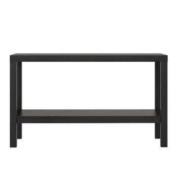 Black Entryway Long Console Table