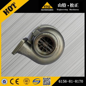 PC450-8 Excavator engine Turbocharger 6506-21-5020