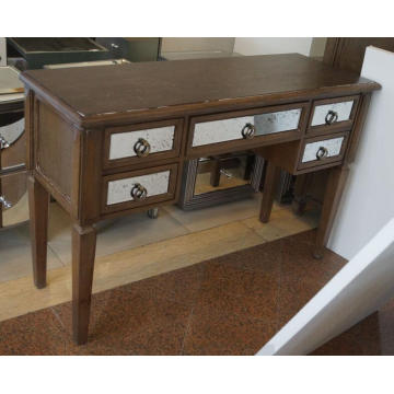 Antique Wooden Mirrored Dressing Table