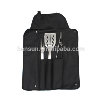 Hot Sale Apron Bag BBQ Tools Set