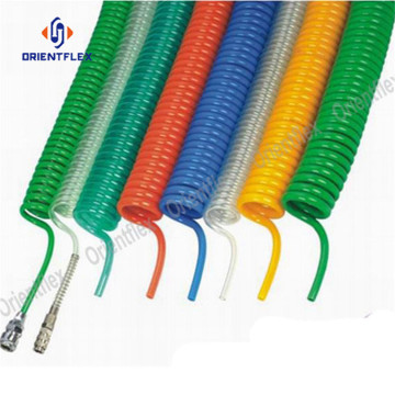 Nylon coiled air hose tube