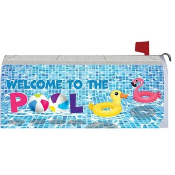 Custom Outdoor WELCOME magnetic mailbox cover