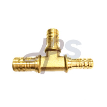Brass PEX tee fitting