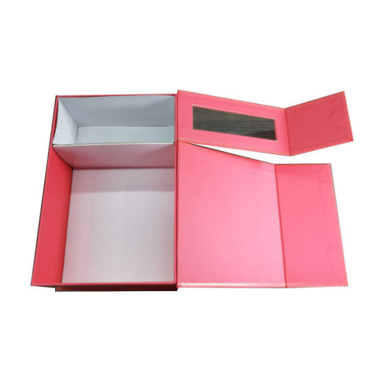 Luxury Gift Packaging Cardboard Paper Box With Window