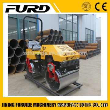 Ride on 1 Ton Weight Mini Road Roller Compactor for Sale(FYL-880)