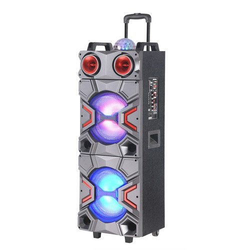 100W Cheap Party Speaker With Bluetooth Led light