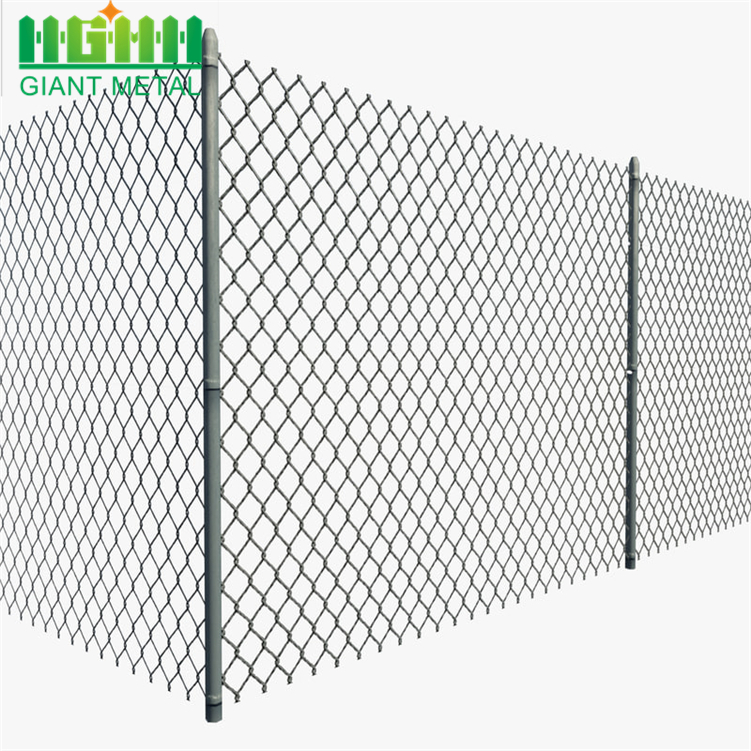 High Quality PVC Coated Galvanized Chain Link Fence