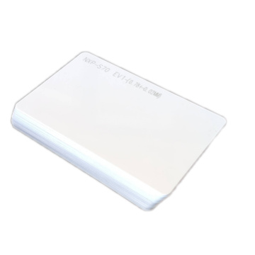 Printable contactless Blank White Smart PVC Card