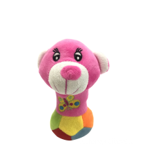 Juguete para perro Rattle Plush Colorful Rattle