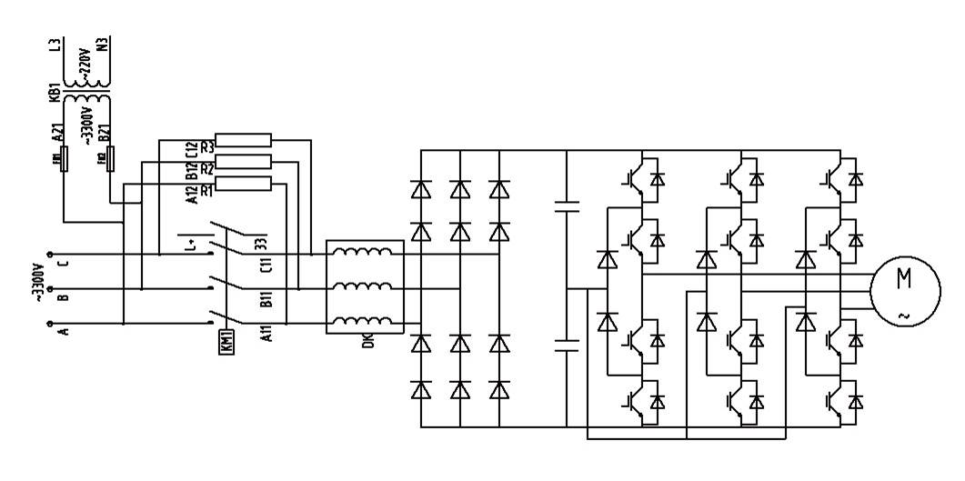 Schematic Diagram of Explosion Proof VFD Motor